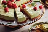 avocado lime and coconut no bake cheesecake