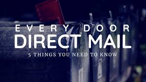 Eddm Size Chart 5 Things Every Door Direct Mail Eddm Publishers Need To Know