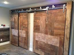 brian built barn doors. Custom Barn Doors Built From #Reclaimed #BarnWood And #EndGrain #Cobble Block Wood Brian E