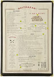 Restaurant Menu Layout Ideas 8 Restaurant Menu Design Secrets That Boost Sales