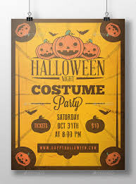 Costume Contest Flyer Template 60 Premium Free Psd Halloween Flyer Templates Free Psd