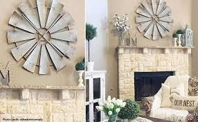 windmill wall decor unique galvanized metal windmill vintage wall decor
