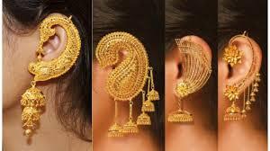 Design Of Ear Ring Latest Ear Cuff Earrings Designs Earcuff Earring Design