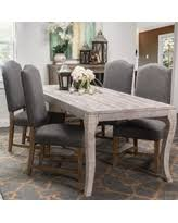 antique white wash dining set. cosmo rustic wood antique white 80-inch dining table by kosas home (82- wash set n