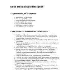 Sales Supervisor Job Description Resume Jewelry Salesme Examples And Template Retail Pertaining To For 7