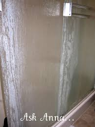 shower glass vinegar new cleaning hard water stains f glass shower doors shower screens