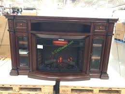 tv stand with electric fireplace costco well universal 72 electric fireplace media mantle costcochaser tv stand