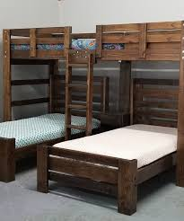 3 Bunk Beds Designs Audrey Triple Bunk Bed In White