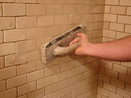 Grouting wall tile Black Grout Step 10 Diy Network How To Install Tile In Bathroom Shower Howtos Diy