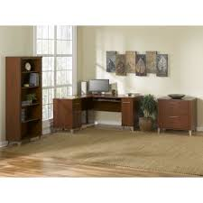 Kitchen Furniture Direct Shop Bush Furniture Birmingham Executive Harvest Cherry Desk At