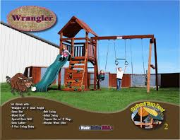 custom redwood swing sets and playsets made in usa backyard fun factory pages 1 8 text version fliphtml5