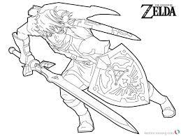 Zelda Coloring Pages Wonderful The Legend Zelda Coloring Pages Link