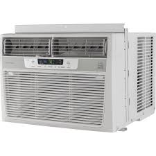 air conditioning window. amazon.com: frigidaire 10,000 btu 115v window-mounted compact air conditioner with temperature sensing remote control: home \u0026 kitchen conditioning window