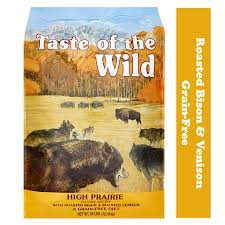 Taste Of The Wild High Prairie Canine Recipe With Roasted Bison And Roasted Venison Grain Free Dry Dog Food 28 Lb