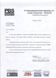 termination letter carltfacts termination letter 4947