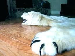 faux bear rug with head bear rug polar faux bearskin skin with head fake photo faux bear rug with head fur