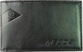 MAZDA 830077547 <b>Футляр для визитных карт</b> из гладкой кожи ...
