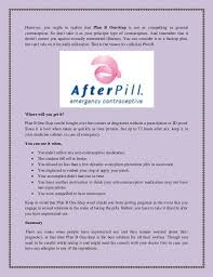 If You Take Plan B While On Birth Control A Brief About Plan B One Step Pill