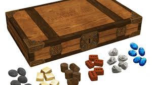 Wooden Game Pieces Bulk Treasure Chest Realistic Resource Tokens for Board Games by Jamey 46