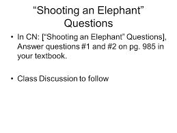 "george orwell eric arthur blair pen  4 ""shooting an elephant"""