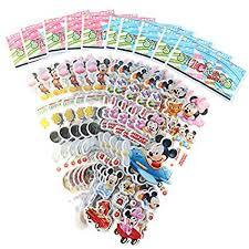 uyfrtdredswes <b>10pcs</b> Children Stationery Sticker Cartoon Mickey ...