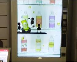 Interactive Vending Machines Impressive LG's Transparent Screen Makes Vending Machines Interactive And Fun