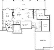 Small 3 Bedroom House Plans One Story Home Plans With Basement Small Cottage 3800 3 Bedrooms