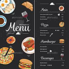 Menu Designs Restaurant Menu Design Graphics Designs Templates