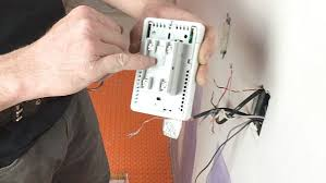 ditra heat heated flooring systems home repair tutor although a gfci is required for ditra heat the ditra heat e rt rsd r thermostats include a gfci the picture below is the back of the thermostat