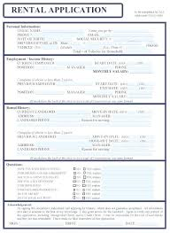 Credit Application For Rental Free Credit Application Template Free Rental Application Form