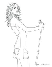 Taylor Swift Coloring Pages Swift Posing Coloring Page Coloring Page