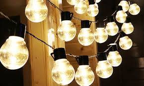 solar powered globe string lights 1 2