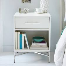 stunning white lacquer nightstand furniture. City Storage Nightstand - White Lacquer | West Elm 20w X 18d 26h Stunning Furniture A