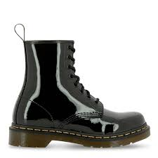 dr martens 1460 w patent leather ankle boots 120523