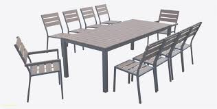 Table De Jardin Aluminium Luxe The Penelope Clear Lucite And Silver