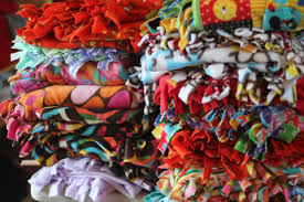 Tied Fleece Blankets Instructions – Mom's Morning Retreat & Several Mom's Morning Retreat members requested we post the instructions  for making no-sew fleece blankets on our site, so they could easily make  more at ... Adamdwight.com