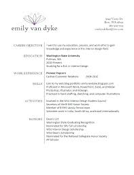 Resume Objective For Internship internship resume objective cliffordsphotography 22