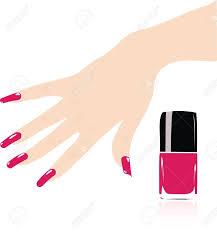 Nails clipart nail polish - Pencil and in color nails clipart nail ...
