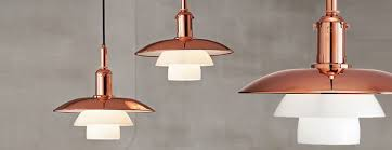 ph lighting. Limited Edition Of PH Pendant Lamp In Copper Ph Lighting S