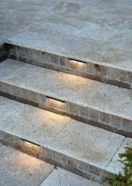 Outdoor stairway lighting Solar Powered Juno Hiziinfo Juno Step Lights Recessed Stair Lighting Solar Outdoor Stair