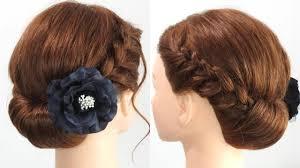昭和記念公園 花火大会③ 編み込みで浴衣に似合うヘアスタイルを作る