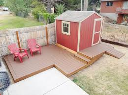 picture of build a floating deck