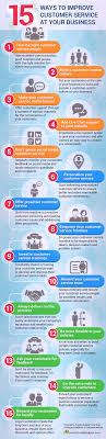 best ideas about customer service customer 15 ways to improve customer service at your business inforgraphic from provide support
