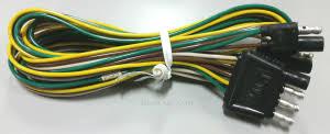 boat trailer lights boat trailer light wire harnesses hanna shorelander 5110349 harness tongue 7 foot 6 inch length