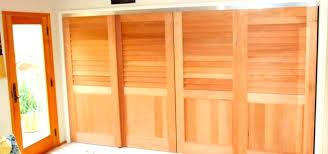 custom size closet doors fixed louver over flat panel sliding louvered bifold single fla