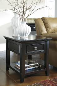 colin black end table modern contemporary vintage accent