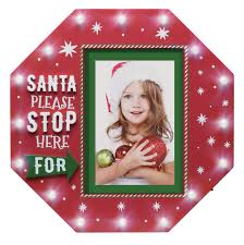 Wholesale Light Up Please Stop Here Santa Picture Frame Neil