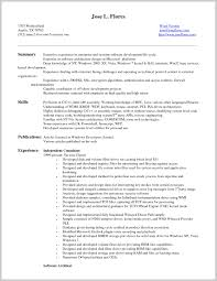 Resume Scanning Software Resume Scanning Software 24 Example Of Entry Level Resume 12