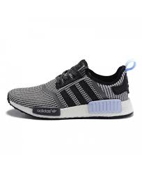 adidas shoes nmd black and white. adidas nmd r1 nomad runner core black white clear blue s79159 shoes nmd and