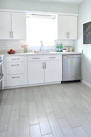 kitchen floor tiles with dark cabinets.  Tiles White Kitchen With Gray Wood Like Porcelain Floor Tiles  Tile Ideas  Ceramic For  To Kitchen Floor Tiles With Dark Cabinets